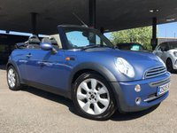 USED 2005 05 MINI CONVERTIBLE 1.6 COOPER 2d 114 BHP + ELECTRIC ROOF + CD