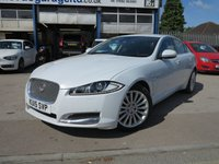 USED 2015 15 JAGUAR XF 2.2 D LUXURY 4d AUTO 200 BHP