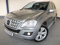 USED 2009 59 MERCEDES-BENZ M CLASS 3.0 ML300 CDI BLUEEFFICIENCY SPORT 5d AUTO 188 BHP