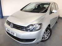 USED 2010 10 VOLKSWAGEN GOLF PLUS 1.6 SE TDI 5d 103 BHP