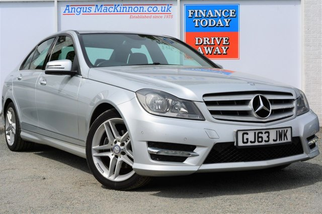 2013 63 MERCEDES-BENZ C CLASS 2.1 C250 CDI BLUEEFFICIENCY AMG SPORT 4d Saloon AUTO Stunning Vehicle