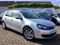 USED 2012 12 VOLKSWAGEN GOLF 1.6 MATCH TDI 5d 103 BHP PRICE INCLUDES A 6 MONTH RAC WARRANTY, 1 YEARS MOT WITH 12 MONTHS FREE BREAKDOWN COVER