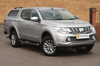 USED 2017 66 MITSUBISHI L200 2.4 DI-D BARBARIAN HARDTOP CANOPY SAT NAV LEATHER SAT NAV LEATHER REVERSE CAMERA HARD TOP CANOPY