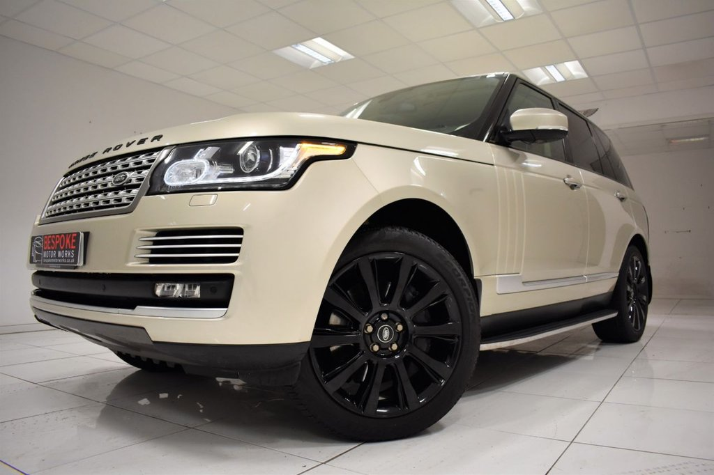 USED 2013 13 LAND ROVER RANGE ROVER 3.0 TDV6 VOGUE SE AUTOMATIC