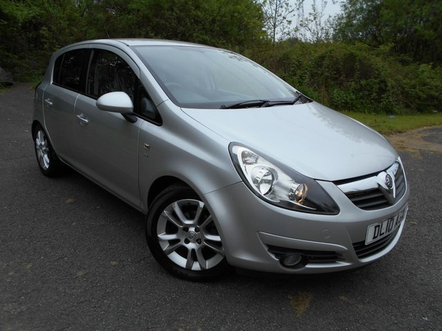 2010 10 VAUXHALL CORSA 1.4 SXI A/C 5d 98 BHP **LOW TAX**LOW INSURANCE**LOVELY CAR**