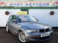 2010 BMW 1 SERIES 2.0 118I M SPORT 5d 141 BHP £6499.00