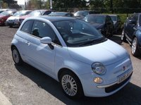 USED 2009 09 FIAT 500 1.2 LOUNGE MULTIJET 75 3d 75 BHP ****Great Value economical reliable family car with excellent service history, drives superbly****