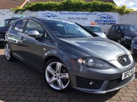 USED 2012 12 SEAT LEON 2.0 CR TDI FR PLUS 5d AUTO 168 BHP SCARCE  CAR IN AUTOMATIC ,  WITH STEERING WHEEL PADDLE SHIFT, FULL HISTORY  AND SAT NAV !!!!!!!