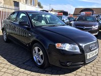 USED 2005 54 AUDI A4 3.1 FSI QUATTRO SE 4d AUTO 255 BHP PRICE INCLUDES A 6 MONTH RAC WARRANTY, 1 YEARS MOT WITH 12 MONTHS FREE BREAKDOWN COVER
