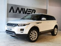 USED 2014 14 LAND ROVER RANGE ROVER EVOQUE 2.2 SD4 PURE TECH 5d 190 BHP