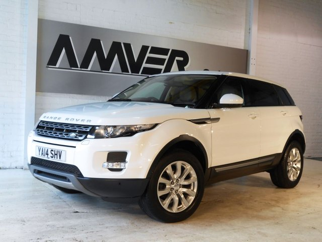 2014 14 LAND ROVER RANGE ROVER EVOQUE 2.2 SD4 PURE TECH 5d 190 BHP