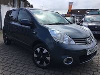 USED 2012 62 NISSAN NOTE 1.6 N-TEC PLUS 5d AUTO 110 BHP PRICE INCLUDES A 6 MONTH RAC WARRANTY, 1 YEARS MOT WITH 12 MONTHS FREE BREAKDOWN COVER