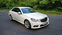 2011 MERCEDES-BENZ E CLASS 2.1 E250 CDI BLUEEFFICIENCY SPORT 4d AUTO 204 BHP £SOLD