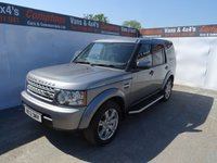 2012 LAND ROVER DISCOVERY 3.0 4 SDV6 COMMERCIAL 1d AUTO 255 BHP NO VAT !! £15995.00