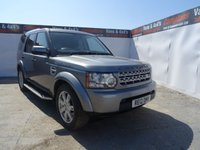 USED 2012 12 LAND ROVER DISCOVERY 3.0 4 SDV6 COMMERCIAL 1d AUTO 255 BHP NO VAT !!