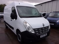 USED 2013 63 RENAULT MASTER 2.3 MM35 DCI MWB M/R 125 BHP