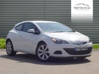 2014 VAUXHALL ASTRA 1.4 GTC SPORT S/S 3d 138 BHP £7795.00