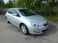 2010 VAUXHALL ASTRA 1.4 EXCLUSIV 5d 98 BHP £4495.00