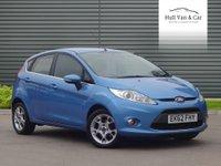 2012 FORD FIESTA 1.4 ZETEC TDCI 5d 69 BHP £5695.00
