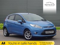 USED 2012 62 FORD FIESTA 1.4 ZETEC TDCI 5d 69 BHP LOW MILEAGE, AIR CON, ALLOYS