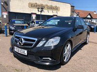 2011 MERCEDES-BENZ E CLASS 2.1 E250 CDI BLUEEFFICIENCY SPORT 4d AUTO 204 BHP £11995.00