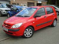 2008 HYUNDAI GETZ 1.4 GSI 5d 96 BHP £1895.00