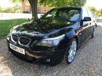 2008 BMW 5 SERIES 3.0 530I M SPORT 4d AUTO 269 BHP £7795.00