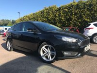 2015 FORD FOCUS 1.0 ZETEC 5d 125 BHP SAT NAV AND ONLY ONE PRIVATE OWNER FROM NEW £9250.00