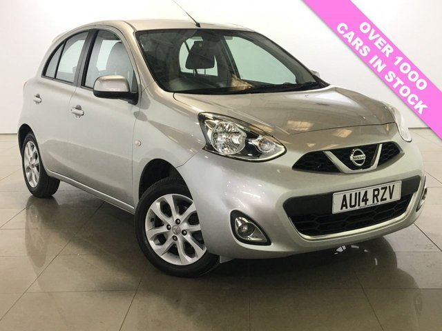 View our 2014 14 NISSAN MICRA 1.2 ACENTA 5d AUTO 79 BHP