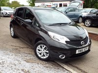 USED 2016 16 NISSAN NOTE 1.2 ACENTA PREMIUM 5d 80 BHP One Former Owner Full Service History