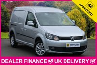 USED 2014 63 VOLKSWAGEN CADDY MAXI 1.6 TDI HIGHLINE SAT NAV AIR CON CRUISE 2 SLIDE DOORS SAT NAV AIR CON CRUISE TWIN SIDE DOORS BLUETOOTH