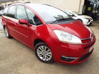 USED 2009 59 CITROEN C4 GRAND PICASSO 1.6 EXCLUSIVE HDI EGS 5d AUTO 107 BHP