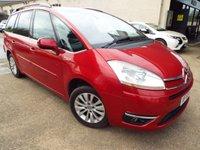 2009 CITROEN C4 GRAND PICASSO 1.6 EXCLUSIVE HDI EGS 5d AUTO 107 BHP £3990.00