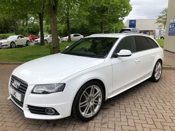 2010 AUDI A4 2.0 AVANT TDI S LINE SPECIAL EDITION 5DR 1 OWNER £12491.00