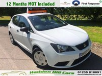 USED 2012 62 SEAT IBIZA 1.2 S A/C 5d 69 BHP Comes With 12 Months MOT!