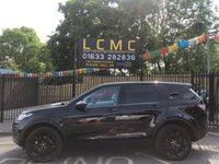2017 LAND ROVER DISCOVERY SPORT 2.0 TD4 HSE BLACK 5d AUTO 180 BHP £33499.00