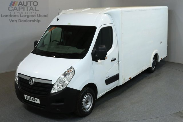 2016 16 VAUXHALL MOVANO 2.3 F3500 136 BHP L3 LWB LUTON VAN  ONE OWNER FROM NEW, MOT TILL 5/05/2019