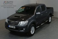 USED 2015 15 TOYOTA HI-LUX 3.0 INVINCIBLE 4X4 169 BHP A/C ONLY ONE OWNER FROM NEW, FULL SERVICE HISTORY