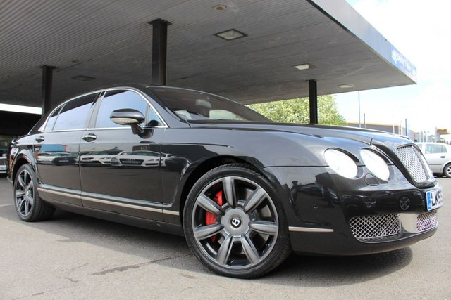 BENTLEY CONTINENTAL FLYING SPUR at Derby Trade Cars