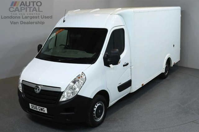 2016 16 VAUXHALL MOVANO 2.3 F3500 136 BHP L3 LWB LUTON VAN  ONE OWNER FROM NEW, MOT UNTIL 28/04/2019