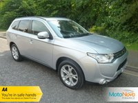 USED 2013 13 MITSUBISHI OUTLANDER 2.3 DI-D GX 4 5d 147 BHP Fantastic High Spec Seven Seat Mitsubishi Outlander GX4 with Satellite Navigation, Full Leather Seats, Electric Glass Sunroof, Climate Control, Cruise Control, Alloy Wheels and Mitsubishi Service History