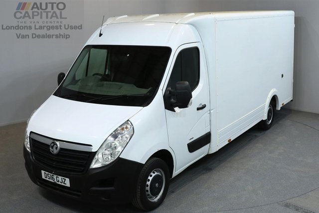 2016 16 VAUXHALL MOVANO 2.3 F3500 136 BHP L3 LWB LUTON VAN  ONE OWNER FROM NEW, MOT UNTIL 22/05/2019