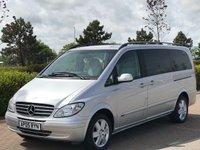2005 MERCEDES-BENZ VIANO 2.1 CDI LONG AMBIENTE 5d AUTO 150 BHP £9995.00