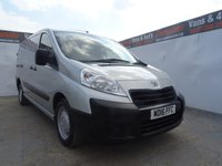 USED 2016 16 PEUGEOT EXPERT 2.0 HDI 1200 L2H1 1d 128 BHP brilliant metalic silver wit twin sliding doors