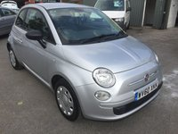 USED 2010 60 FIAT 500 1.2 POP 3 DOOR 69 BHP IN SILVER WITH ONLY 55000 MILES APPROVED CARS ARE PLEASED TO OFFER THIS FIAT 500 1.2 POP 3 DOOR 69 BHP IN SILVER WITH ONLY 55000 MILES IN IMMACULATE CONDITION INSIDE AND OUT WITH ELECTRIC FRONT WINDOWS AND POWER STEERING AND A FULL SERVICE HISTORY A GREAT LITTLE FIAT THAT LOOKS GREAT IN DEEP SILVER AN IDEAL FIRST CAR.