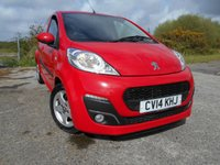 2014 PEUGEOT 107 1.0 ALLURE 5d 68 BHP**SUPER LOW MILEAGE**ZERO ROAD TAX**CHEAP INSURANCE!!** £5495.00