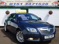 USED 2010 60 VAUXHALL INSIGNIA 2.0 ELITE NAV CDTI ECOFLEX 5d 158 BHP FULL HEATED LEATHER, SAT-NAV, FULL MAIN DEALER HISTORY, DAB RADIO, £2700 OF OPTIONAL EXTRAS