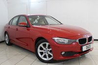 USED 2014 14 BMW 3 SERIES 2.0 316D ES 4DR 114 BHP SERVICE HISTORY + HEATED LEATHER SEATS + SAT NAVIGATION + BLUETOOTH + CRUISE CONTROL + MULTI FUNCTION WHEEL + CLIMATE CONTROL + 17 INCH ALLOY WHEELS