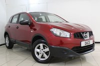 USED 2013 13 NISSAN QASHQAI 1.6 VISIA IS DCIS/S 5DR 130 BHP FULL SERVICE HISTORY + BLUETOOTH + MULTI FUNCTION WHEEL + AIR CONDITIONING + RADIO/CD + 16 INCH ALLOY WHEELS