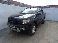 2013 FORD RANGER 3.2 WILDTRAK 4X4 DCB TDCI 1d 197 BHP £12995.00
